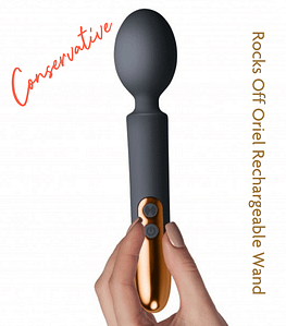 Best Sex toys for Conservative Womxn - Rocks Off Oriel Rechargeable Wand