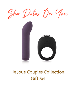 For the Doting Womxn - Je Joue Couples Collection Gift Set