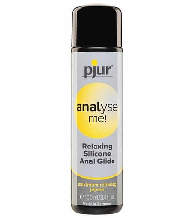 pjur analyse me! Relaxing Anal Glide Silicone Lubrication