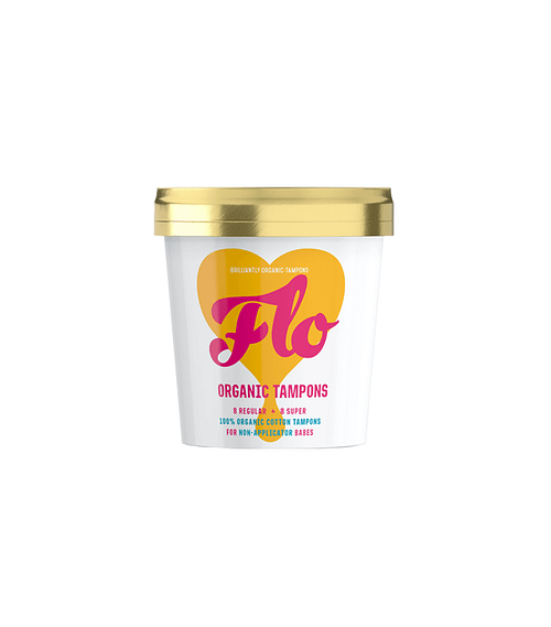 Flo Organic Tampons - Flo Organic Tampons Non-applicator