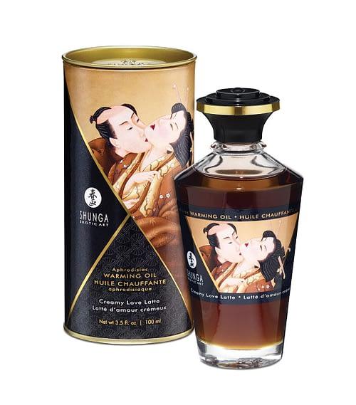 Shunga Intimate Kisses Oil Creamy Love Latte 100ml