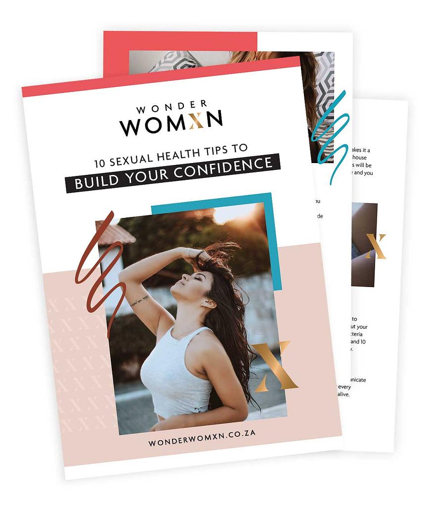 Wonder Womxn Ultimate Sexual Wellbeing Guide mockup 1
